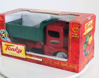 Vintage Tonka 1949 Dump Truck Collector Series - Reproduction