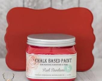 Vintage Storehouse Chalk Based Paint - Red Bandana