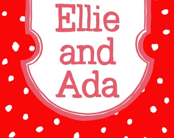Ellie and Ada Sock Club - One Month Subscription - June