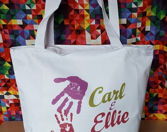 Disney Pixar UP Carl and Ellie mailbox inspired large bag