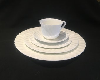 Wedgwood Candlelight 5 Piece Place Setting