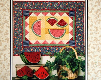 Melon Slice By Lynette Jensen and Thimbleberries Quilting Pattern Leaflet 2005