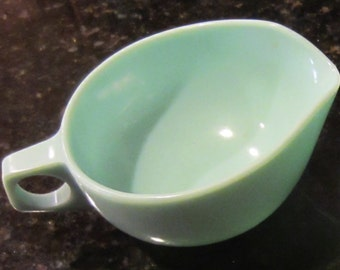 Melmac Sugar and Creamer Set, Light Teal, Harmony Home US Patent, Made by Catalina