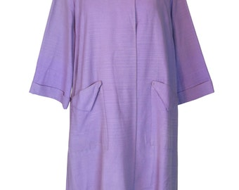 Original Vintage 1950's Purple Lilac Swing Coat Brigwater
