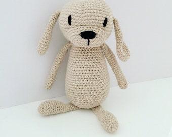 READY TO SHIP - Lui Dog Amigurumi Dog Amigurumi Puppy
