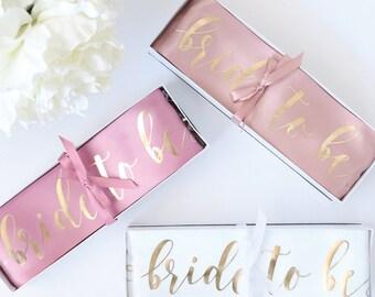 Bridal Party Sashes - Bridal Party or Bachelorette Gift Sash
