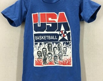 Vintage Dream Team 1 USA Tshirt Sz Youth Large/Adult XS