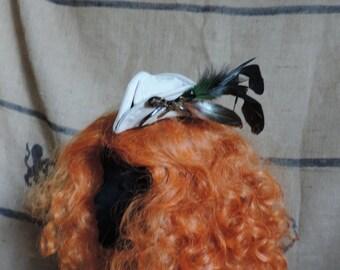 mini tricorn hat, steampunk pirate