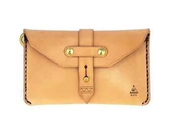 Leather Passport Wallet / Travel Wallet / Handcrafted in Portland, Oregon