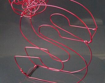 3D Decorative Wire Letter