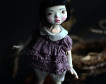 SALE OOAK BJD Art Doll Baby Girl - One of the Twin Sisters