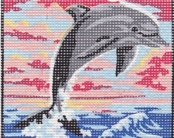 D' Art Tapestry. Dolphin. 3223.