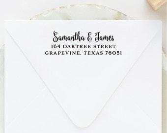 Return Address Stamp, Address Stamp, Custom Stamp, Personalized Stamp, Self Inking Stamp, Wedding Stamp