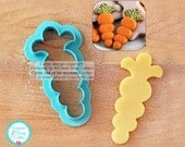 Whimsical Carrot Cookie Cutter and Fondant Cutter
