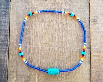 Native American Jewelry, Beaded Jewelry, Arm Band, Summer Anklet, Summer Accessories, Boho Style, Boho Anklet, Boho Jewelry, Native Jewelry