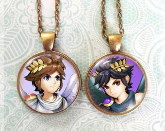 Choose from 8 images! - Kid Icarus Uprising Pendant