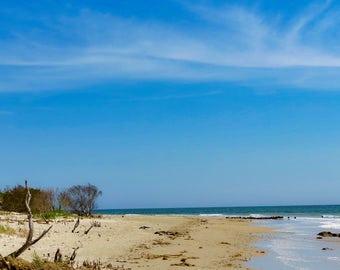 Pirate Beach Instant Photo Download, Insta-Photo, Landscape Photography, Chesapeake Bay, Grandview Island, Escape, Water, Blue Sky, Summer