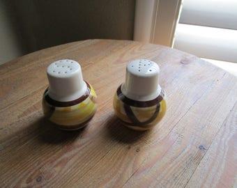 Vernonware Organdie Ironstone Salt and Pepper Shakers