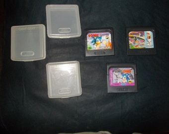Sonic The Hedgehog  1&2 and  Chaos  (Sega GameGear)  Videogames   1990's