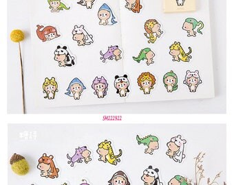 Bear Stickers Pack SM222922 45pcs