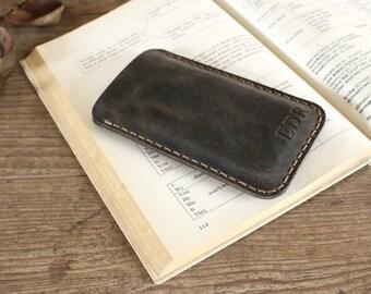 Samsung Galaxy S7 Edge Leather Case, Galaxy S7 Sleeve, Samsung Galaxy S7 Accessories - SG28GR