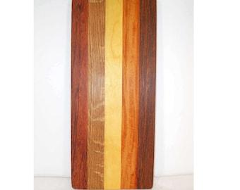 Small wooden cutting board, cheese board, bread board, kitchen board (#121)