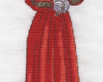 KL115 Catherine Parr Counted Cross Stitch Kit