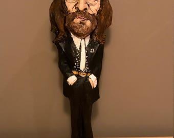 John Lennon sculpture, Handmade paper mache figure