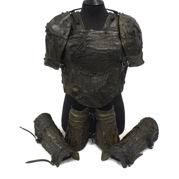 Larp Armour Female Bark Armour Set