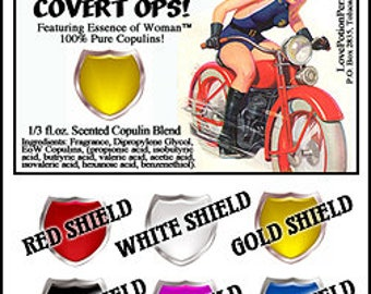OCCO: Overt Cops for Your Covert Ops - for Women - Copulin Enhanced Perfumes - Choice of Scents! - Love Potion Magickal Perfumerie