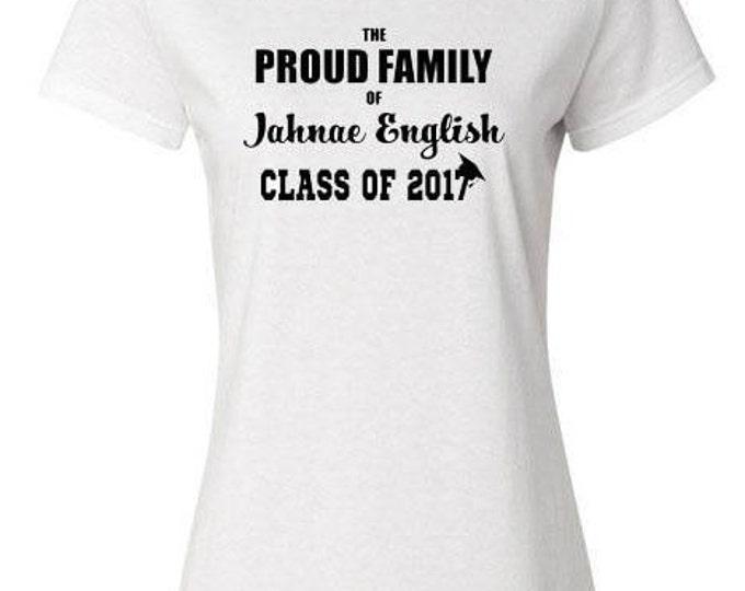 Unisex Shirt, Proud Family of... Class of 2017 Shirt