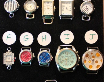 Assorted Watch Faces for Interchangeable Watch Bracelet