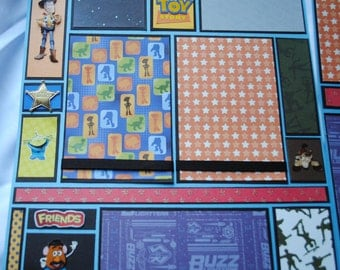 Disney Toy Story Two Page 12 x 12 Layout