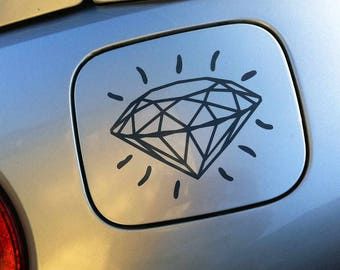 Tattoo diamond sticker / decal