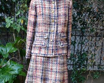 CHANEL HAUTE COUTURE 1970 Bouclette Suit