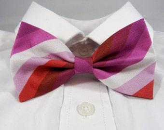 Lesbian Pride Bow Tie