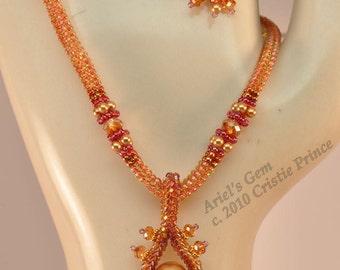 Ariel's Gem Necklace Pattern