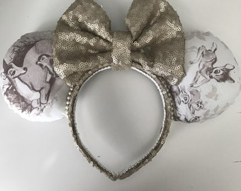 Disney Inspired Bambi Minnie / Mickey Mouse Ears