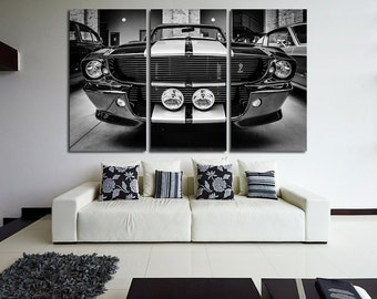 Ford Shelby Print GT500 Eleanor Shelby Canvas Ford Shelby Photo Ford Shelby GT Top Gear  Ford Photo Ford Mustang Sport Car Art Sport Car