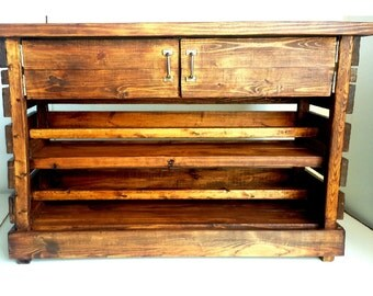 Rustic Entertainment Center (LOCAL Pickup/DELIVERY ONLY)