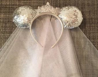 Bridal Disney Ears