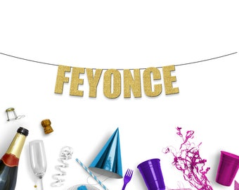FEYONCE - Fun Party Banner for Engagement, Hen/Batchelorette or Wedding Party