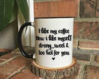 Funny coffee mugs Etsy
