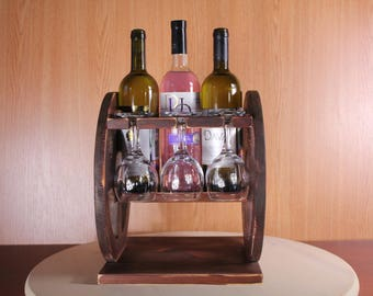 Stand for wine. Greek chariot. Delivery is free