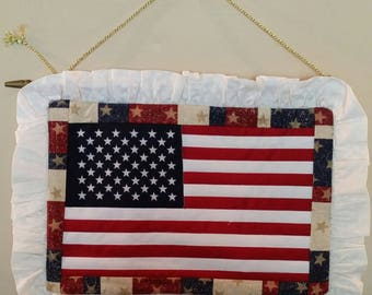 American Flag Front Door/Wall Hanging