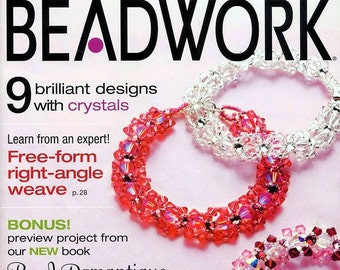 2 VINTAGE BEADWORK Magazines - February-March 2008 & April-May 2008 - New Never Used