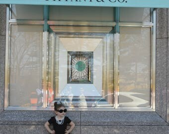 Audrey Hepburn Breakfast at Tiffanys Inspired Floor length Tutu Skirt. Flower girl dress, costume, birthday