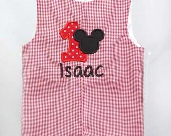 Mickey Mouse First Birthday | Mickey Mouse Birthday Shirt | Baby Boy Birthday | Baby Boy Clothes | Boys 1st Birthday | Twin Babies 292888
