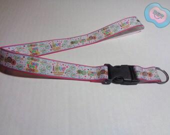 Girl Scout Lanyard- Cookie Time, ID Holder, Badge and Key Holder, Breakaway lanyard, Gift