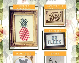 Cross Stitch Instructions- How To